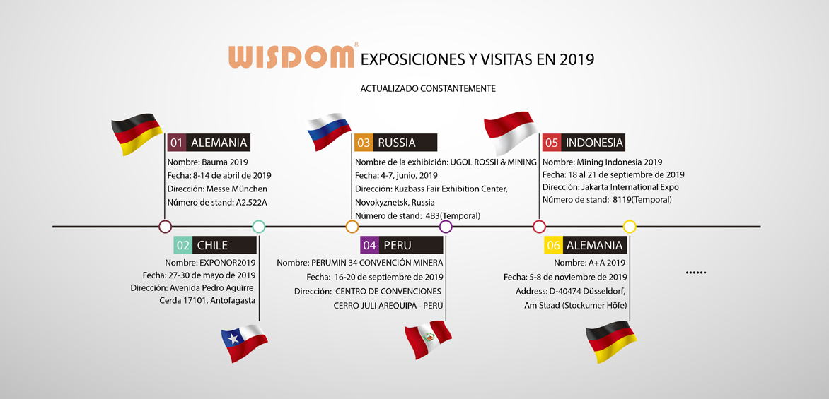 WISDOM exhibitions in 2019
