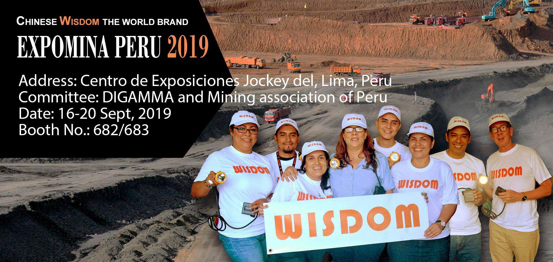 WISDOM will attend EXPOMINA PERU 2016