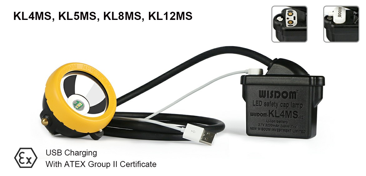 WISDOM new product KL4MS/KL5MS/KL8MS: Power Connector: The magnetic power cord attaches securely and detaches cleanly.