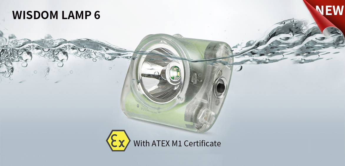WISDOM LAMP6 with ATEX M1 approval