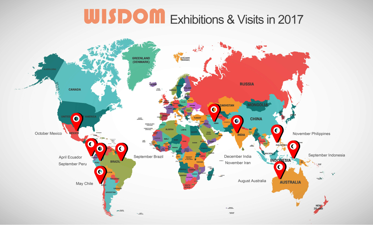WISDOM Exhibitions and visits in 2017