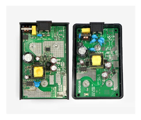 The original WISDOM: with high quality double-sided PCB, a dedicated charging management circuit, in line with EMC and safety regulations