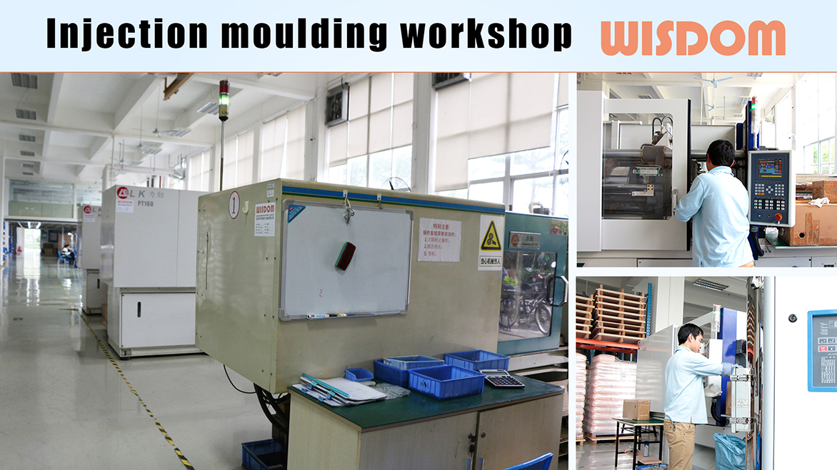 WISDOM injection moulding workshop