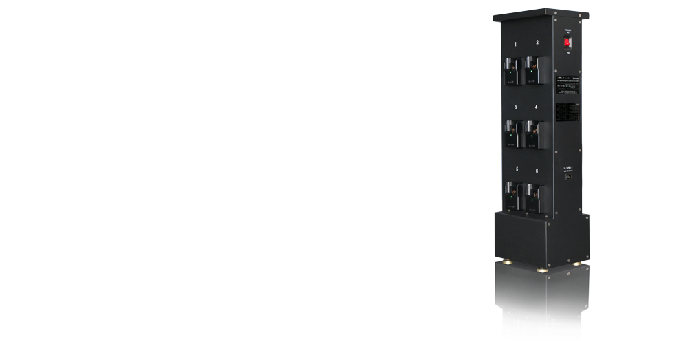 WISDOM NWCR-12B: High-efficiency Charger Rack