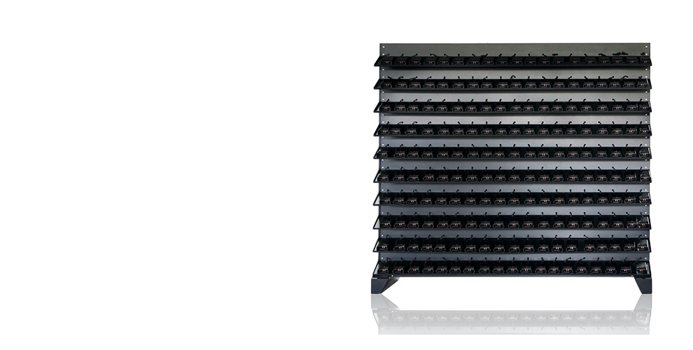 WISDOM NWCR-360: High-efficiency Charger Rack