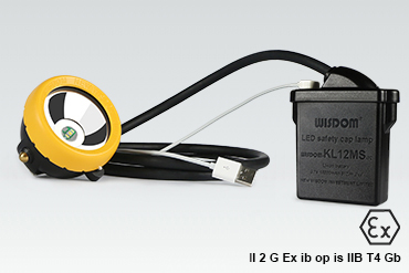 WISDOM High-performance Miner's Cap Lamp: KL12MS