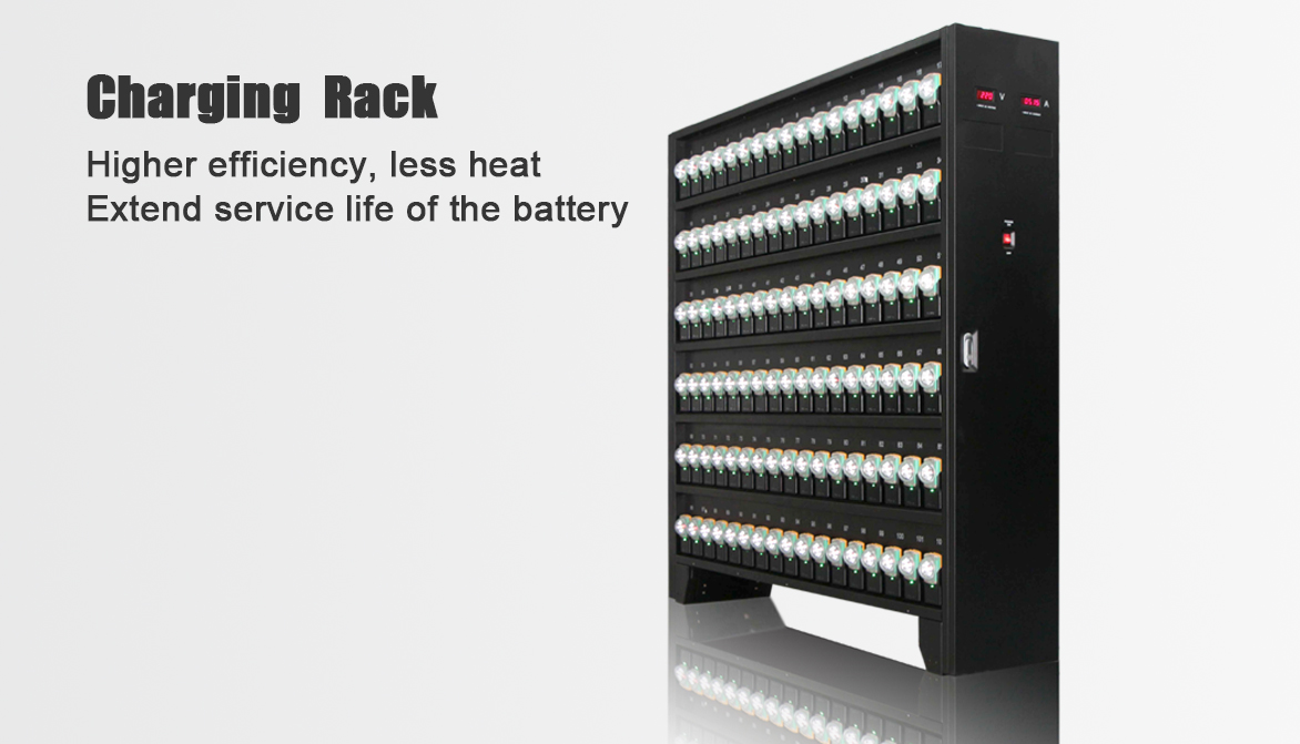 High-efficiency Charger Rack Series