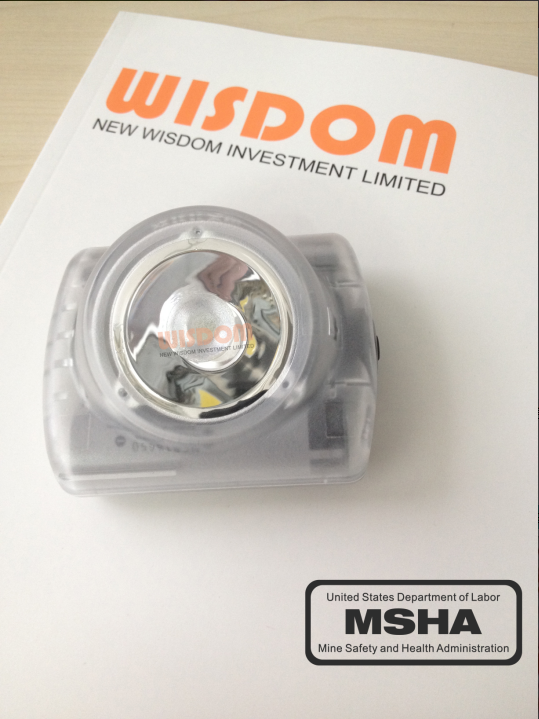 wisdom lamp2 passed through MSHA and was retored