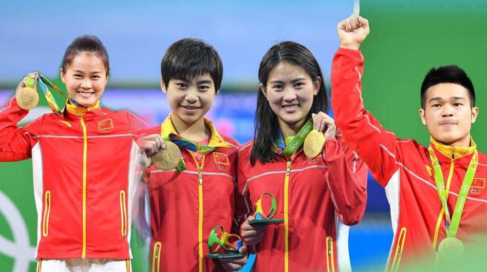 wisdom lamp proud that the achievements of Chinese athletes in the Olympic Rio 2016