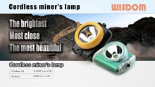 WISDOM Slide: Headlamp & Miner's caplamps - Cordless2-Poster