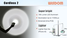 WISDOM Slide: Headlamp & Miner's Cap Lamp - Cordless2 Lighter & Brighter