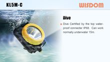 WISDOM Slide: KL5M-C Super Waterproof & Dive