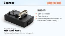 WISDOM Slide: Portable Charger NWB-15