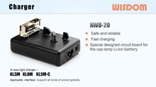 WISDOM Slide: Portable Charger NWB-20