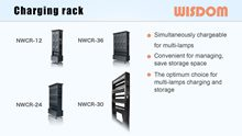 WISDOM Slide: Charger Rack 2