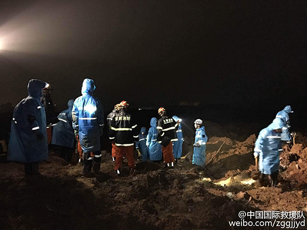 Present All-in-one Cap Lamps to Shenzhen Landslide Devastated Areas